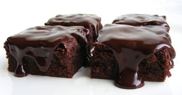 Chocolate cake (source: Wikimedia commons)