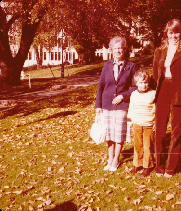 This is me in the middle, aged five, with my cousin Janet whom I loved, not the least because she had such beautiful long hair.