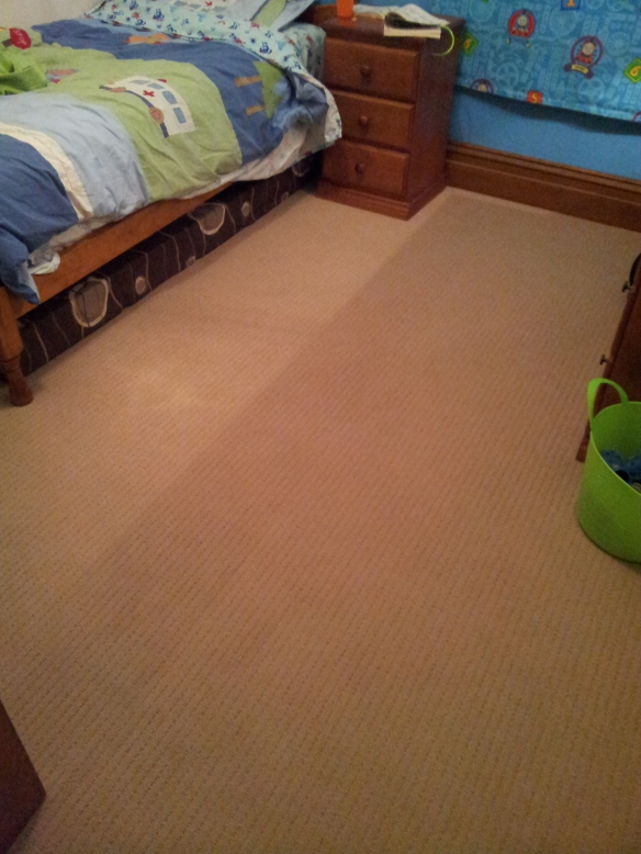 Carpet in my son's room. Isn't it lovely!